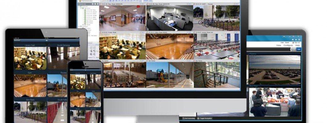 Камери за видеонаблюдение в магазин