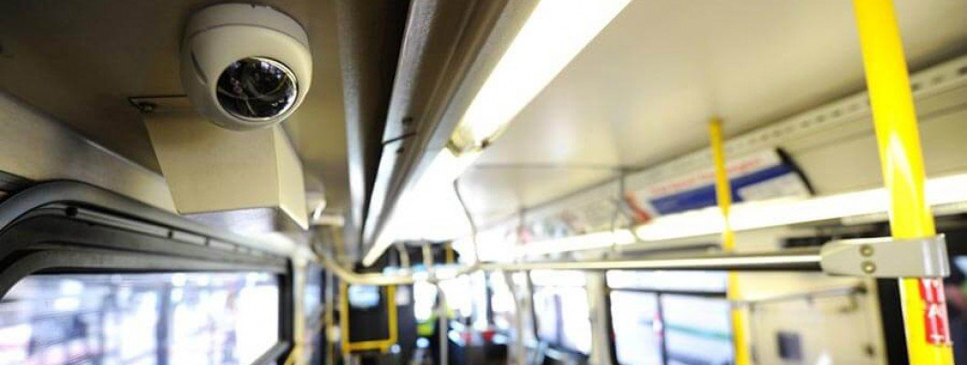 Видеонаблюдение в автобус