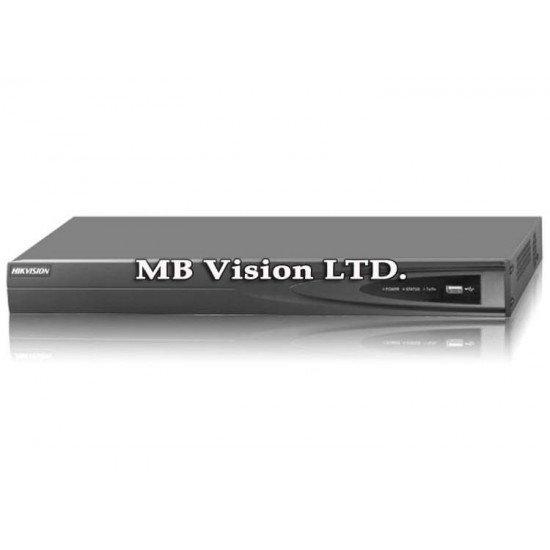 NVR за 4 IP камери Hikvision DS-7604NI-K1(B)