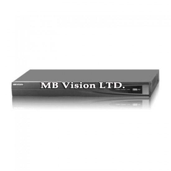 8 канален мрежови рекордер Hikvision с 8 PoE LAN входове DS-7608NI-E2/8P/A