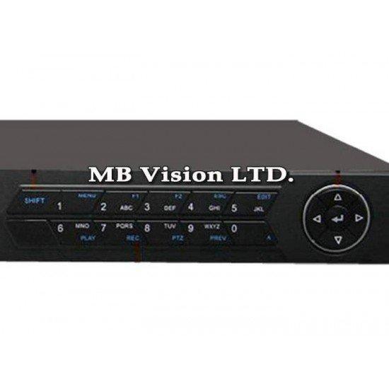 16-канален NVR с 16 PoE LAN порта Hikvision DS-7616NI-K2/16