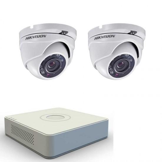 2MP комплект Hikvision с 2 камери