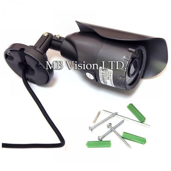 Комплект за видеонаблюдение 960H с 4 камери 800TVL, ДВР рекордер