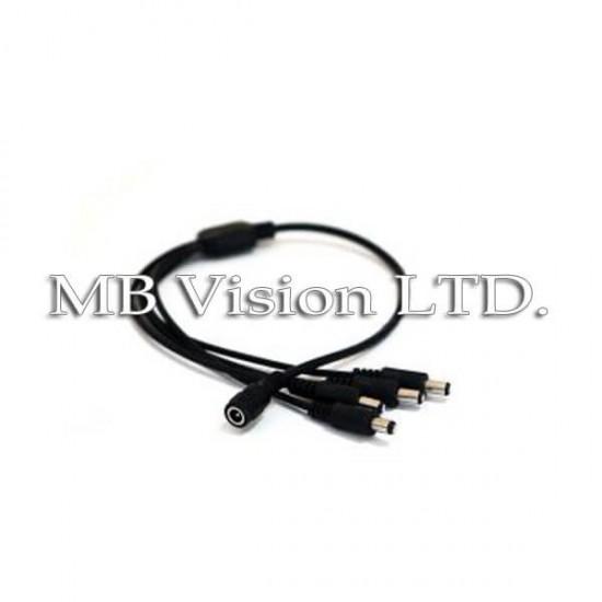 HD комплект за видеонаблюдение с 4 вътрешни HD охранителни камери, нощен режим 20м и DVR рекордер