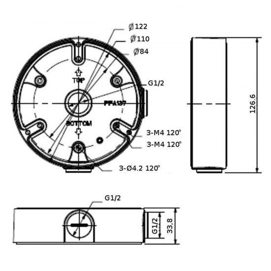 Dahua PFA137 кутия