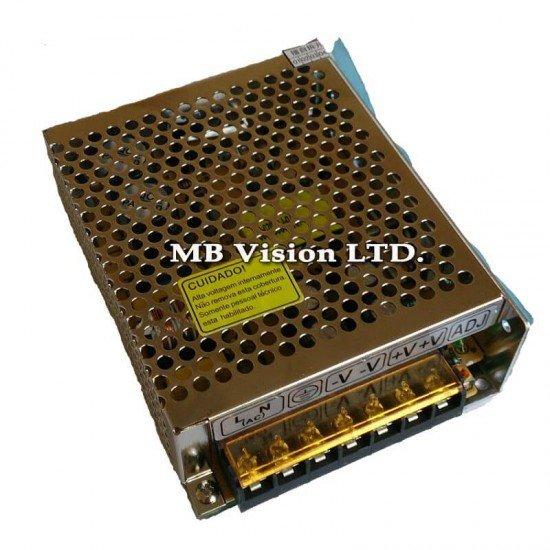 Захранващ блок за камери 12V, 5A - до 10 камери