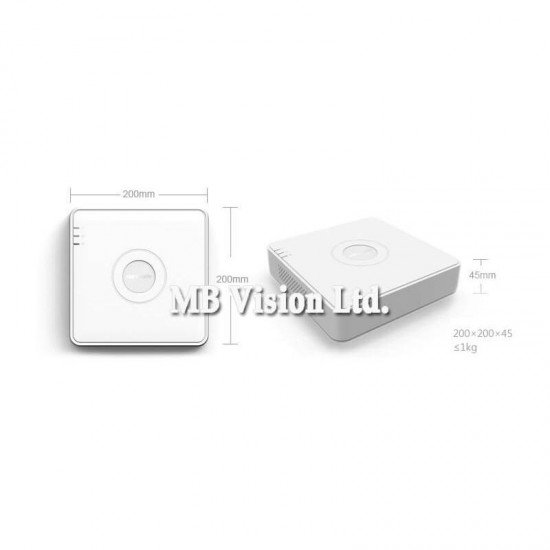 16-канален Turbo HD DVR Hikvision DS-7116HGHI-K1(S)