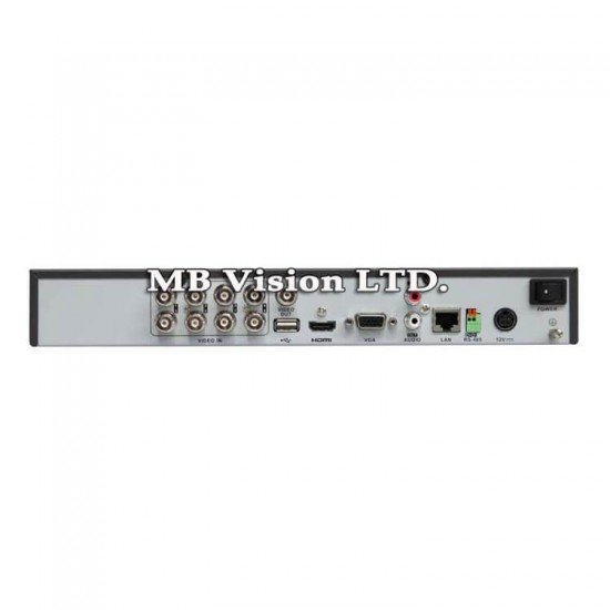 8-канален ДВР Hikvision DS-7208HQHI-K1/A(S)