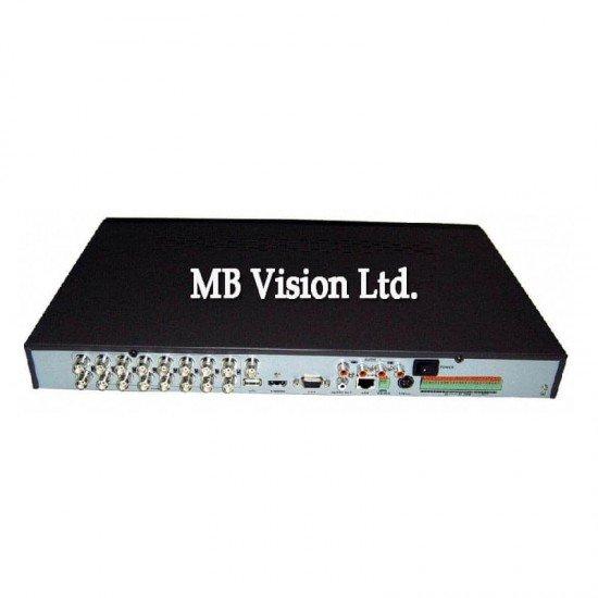 16-канален DVR Turbo HD, CVBS, AHD камери Hikvision DS-7216HGHI-F1