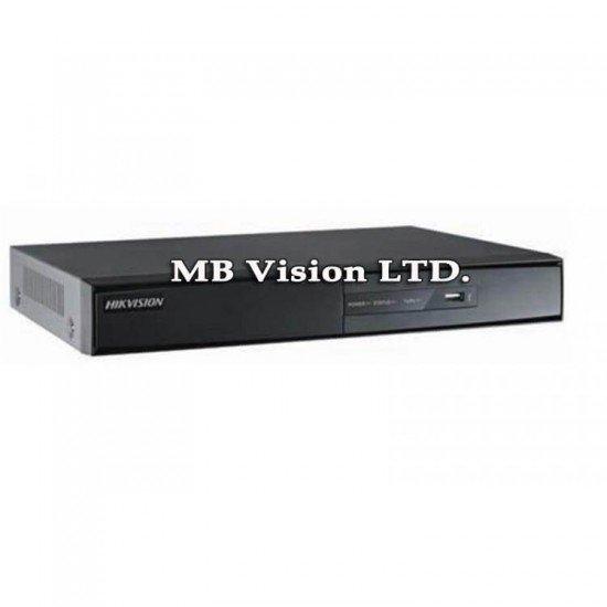 Hikvision iDS-7208HUHI-K1/4S, 8 канален + 8 IP камери, 4 аудио