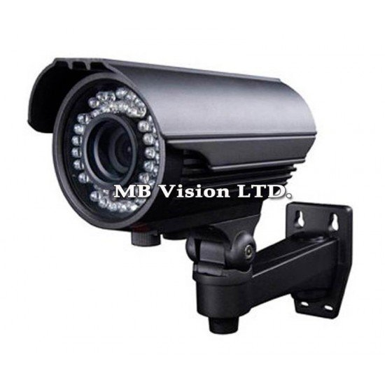 Камера, външна с 800TVL резолюция, вариофокален обектив 2.8-12mm и IR до 40м AVS-W4222