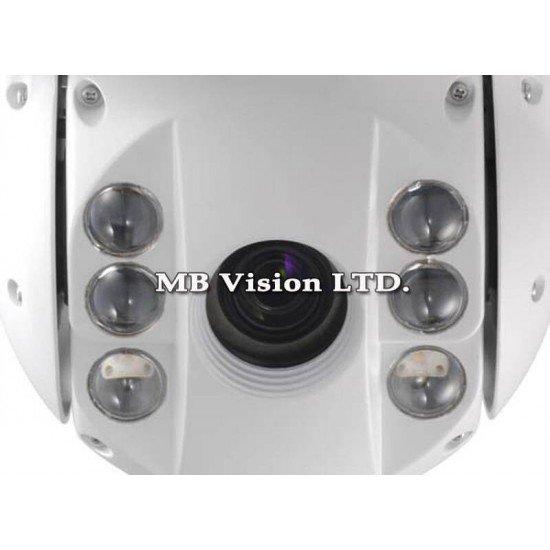 Моторизирана PTZ камера 700TVL, 23x оптично приближение и IR осветление до 100м DS-2AE7023I-A