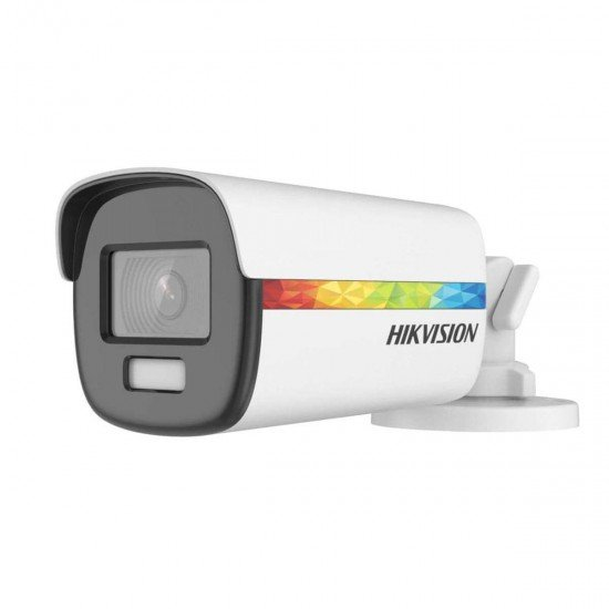 2MP TurboHD ColorVu Hikvision DS-2CE12DF8T-F, IR 20m