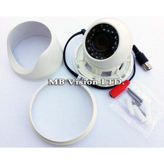 Камера Hikvision с широкоъгълен обектив 2.8мм, 700TVL, IR до 20 метра - DS-2CE55A2P-IRP