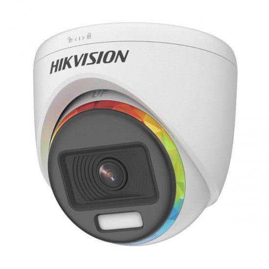 2MP TurboHD ColorVu Hikvision DS-2CE70DF8T-MF, IR 20m