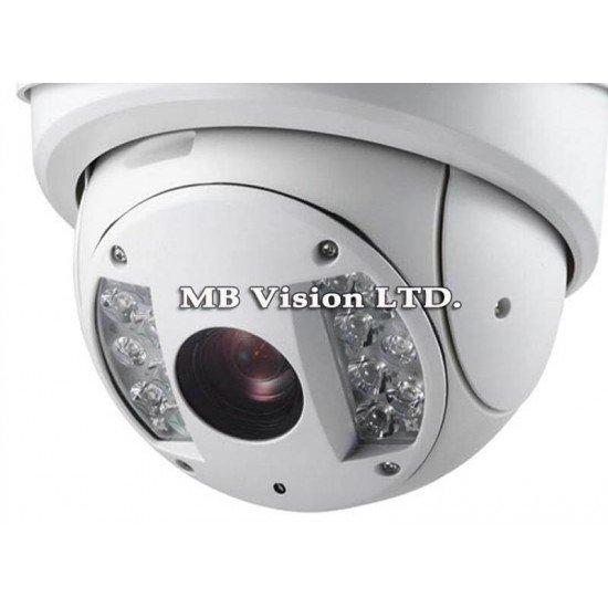 Високоскоростна 2MPix IP PTZ камера Hikvision, 30x оптично, 16х цифрово приближение, IR до 120м - DS-2DF7286