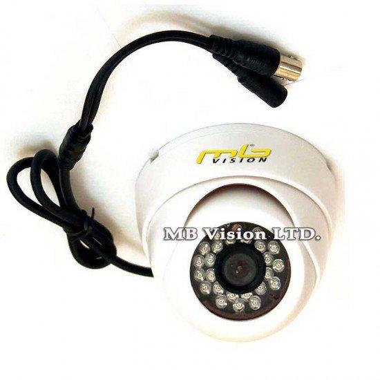 HD вътрешна охранителна камера 4-в-1 (TVI, AHD, CVI, аналогова), IR 20 метра MB-LTHC100B
