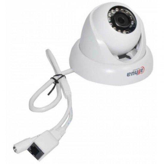 1MP куполна, IP камера Dahua за външен и вътрешен монтаж, IR до 20 метра IPC-HDW1000S